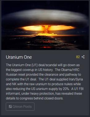 Uranium One Scandale